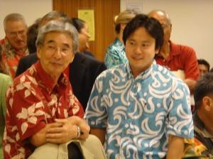 Rep. Clift. Tsuji & Rep. Jon Riki Karamatsu