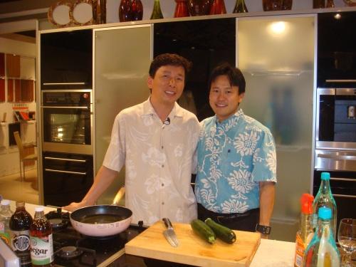 Chef Chai and Rep. Jon Riki Karamatsu