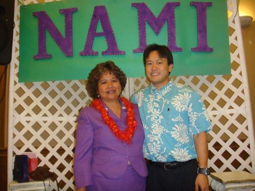 Beatrice Ramos Razon, RN, President, Nurses, Advocates & Mentors Inc. and Rep. Jon Riki Karamatsu