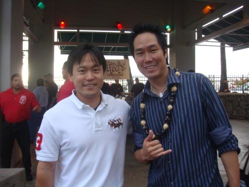 Rep. Jon Riki Karamatsu & Toby Tamaye