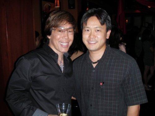 Russell Tanouye and Rep. Jon Riki Karamatsu