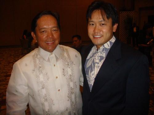 Philippine Consul General Ariel Y. Abadilla & Rep. Jon Riki Karamatsu