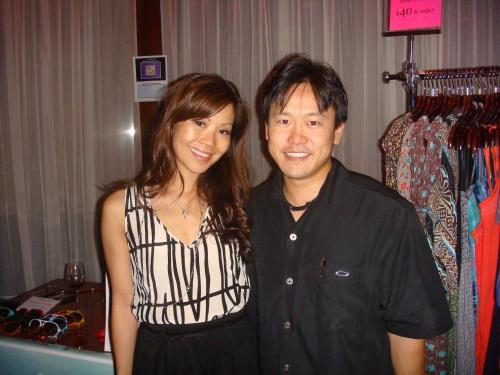 Tiffany Breeden and Rep. Jon Riki Karamatsu