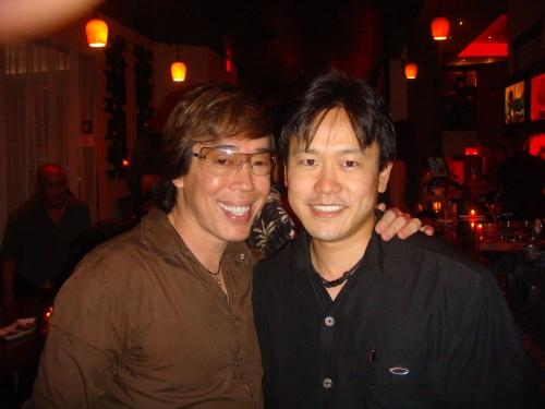 Russell Tanoue and Rep. Jon Riki Karamatsu