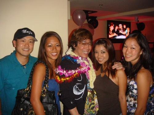 Rep. Jon Riki Karamatsu, Chantelle deJesus, Russell Tanoue, Lynsey Kwock, and Lara Karamatsu (Jon's sister)