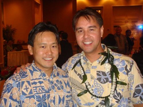 Rep. Jon Riki Karamatsu and Rep. Joey Manahan