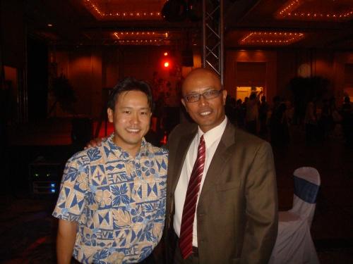 Rep. Jon Riki Karamatsu and Sen. Will Espero