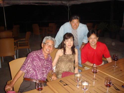 Rep. Clift Tsuji, Kazue Uehara, Rep. Jerry L. Chang, and Rep. Jon Riki Karamatsu