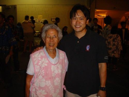 My late granma Bessie Karamatsu's friend at Jodo Shu.