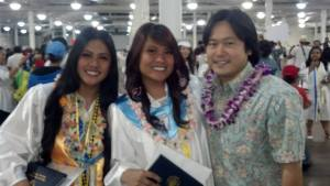 130520 Sharmaine and Jenalyn Waipahu grad