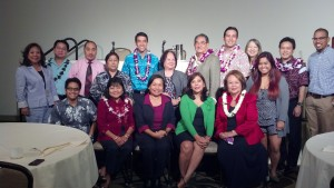 "I was part of a panel that included Bob Toyofuku and Lori Lum, discussing ""lobbying"" to the Hawaii Filipino Chamber of Commerce at Dole Cannery Ball Room today, Saturday, December 7, 2013."