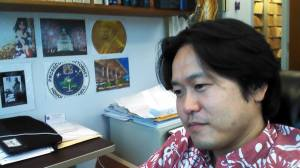 Working in my office at the Department of the Honolulu Prosecuting Attorney on 7/11/2014.