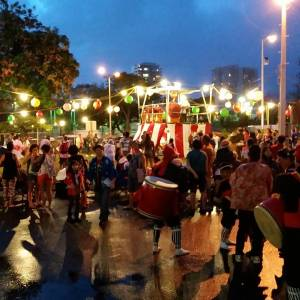 2015 Jodo Mission of Hawaii Bon Dance on Friday, August 14 and Saturday, August 15, 2015 from 5 P.M. to 10 P.M.