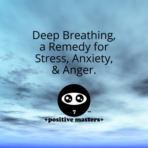 Relieve stress, anxiety, and anger with deep breathing!