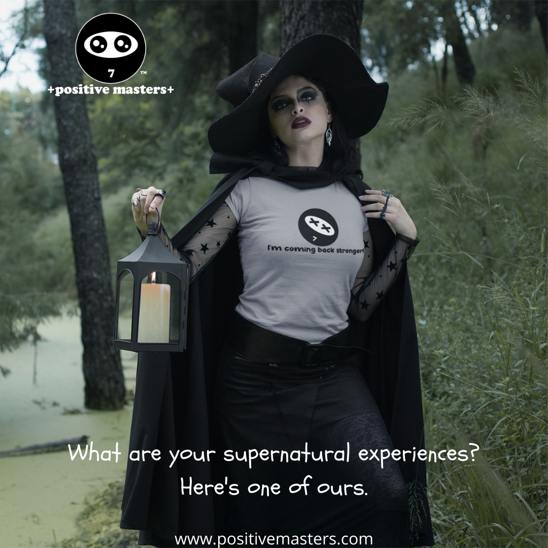 What are your supernatural experiences? Here's one of ours.