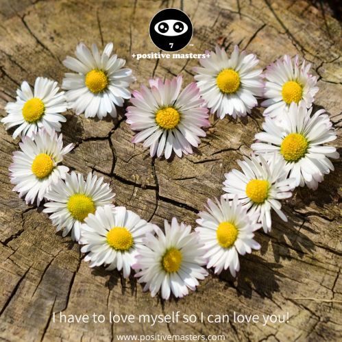 I have to love myself so I can love you! Boost yourself up with self-love, sleep, mindset practices, meditation, self-reflection, nutrients, exercise, knowledge, and skills. When you're powered up, you can fully radiate your love to others!