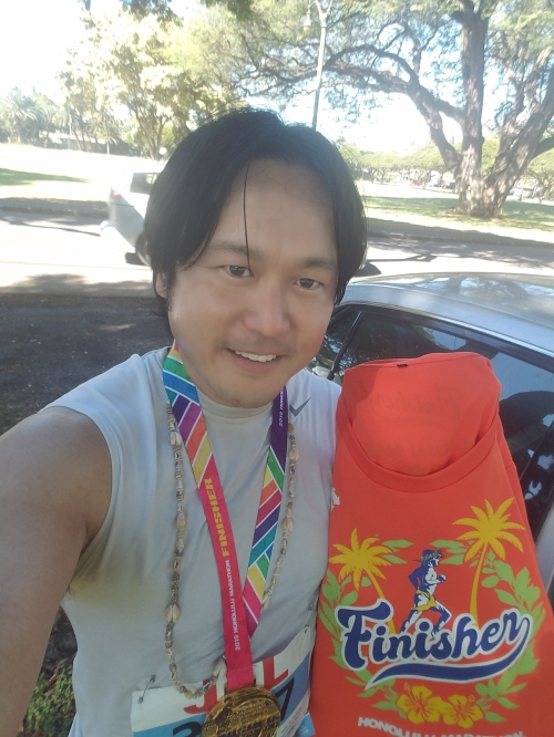 I finished my 12th Honolulu Marathon on Sunday December 8, 2019.