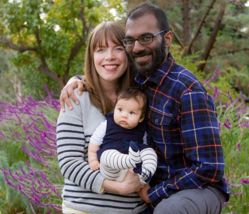 Dr. Paul Kalinithi, Lucy Kalanithi, and their daughter Elizabeth Acadia.
