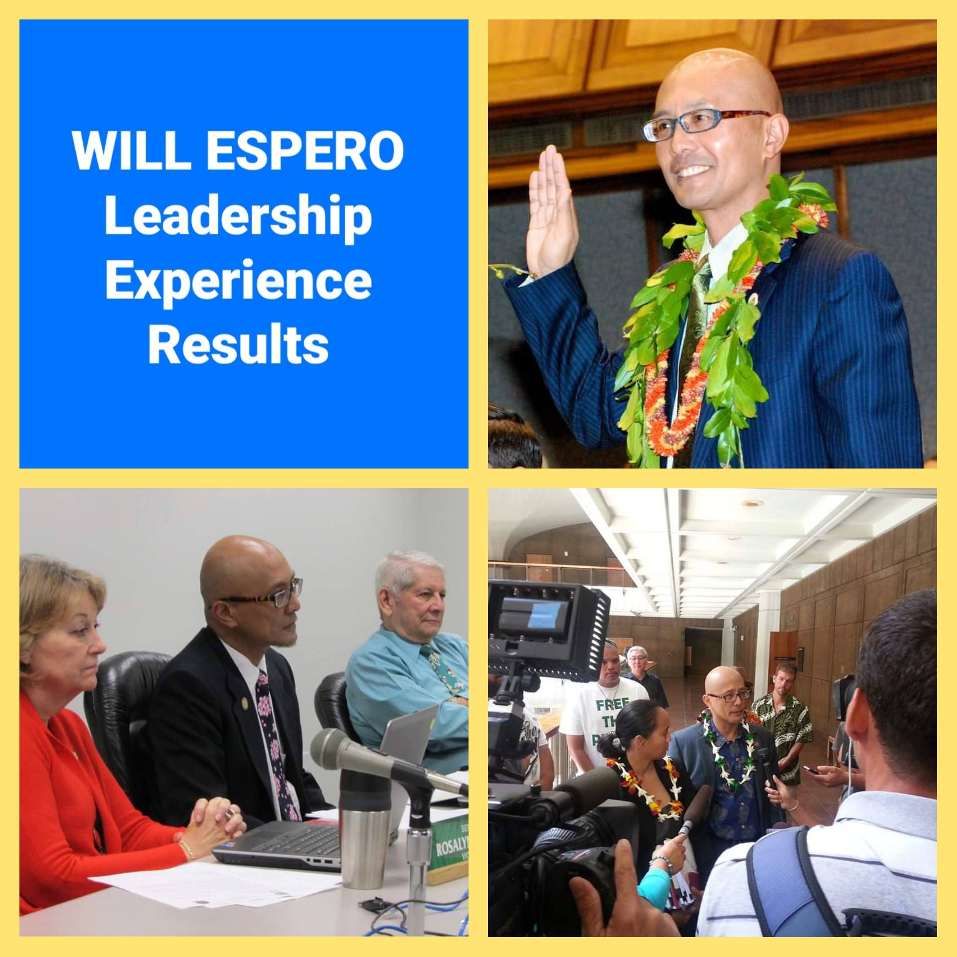 Senator Will Espero is one of the few brave politicians who are willing to ask the tough questions and execute on policies when law enforcement misbehaves.