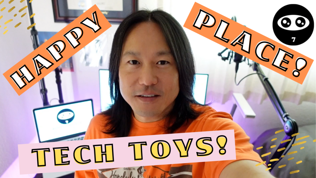 5: Positive Masters - Mindset Clips - Happy Place & Tech Toys to Boost Your Productivity